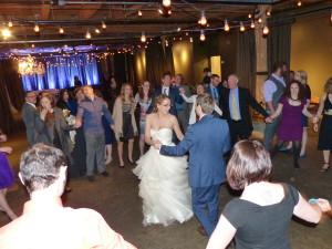 Melrose Market Studios Wedding Dancing